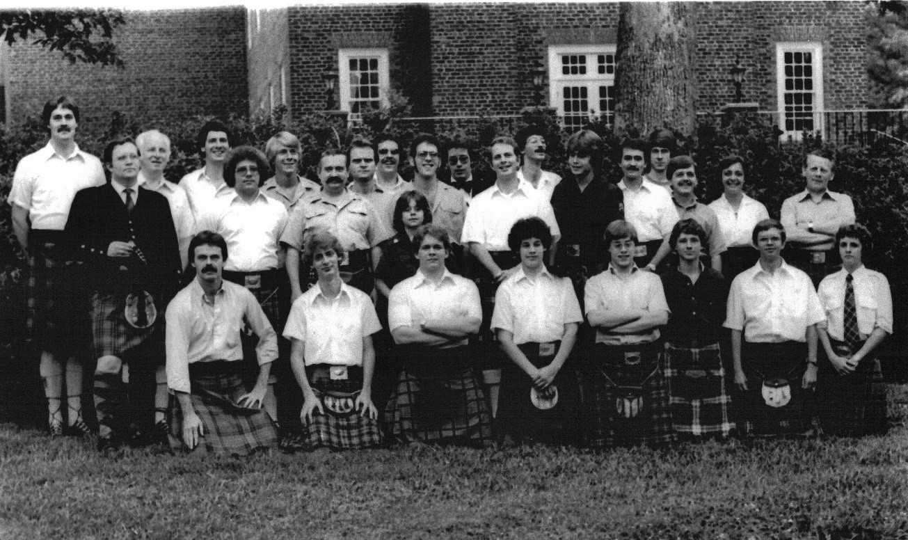Balmoral School of Piping and Drumming 1979