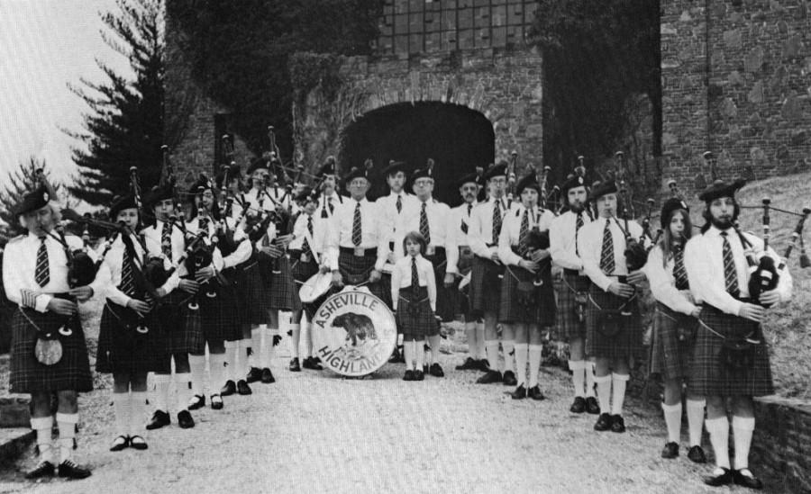 Asheville Highlanders 1975