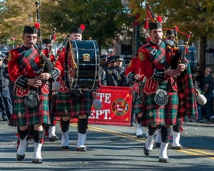 Charlotte Fire Department Pipes and Drums