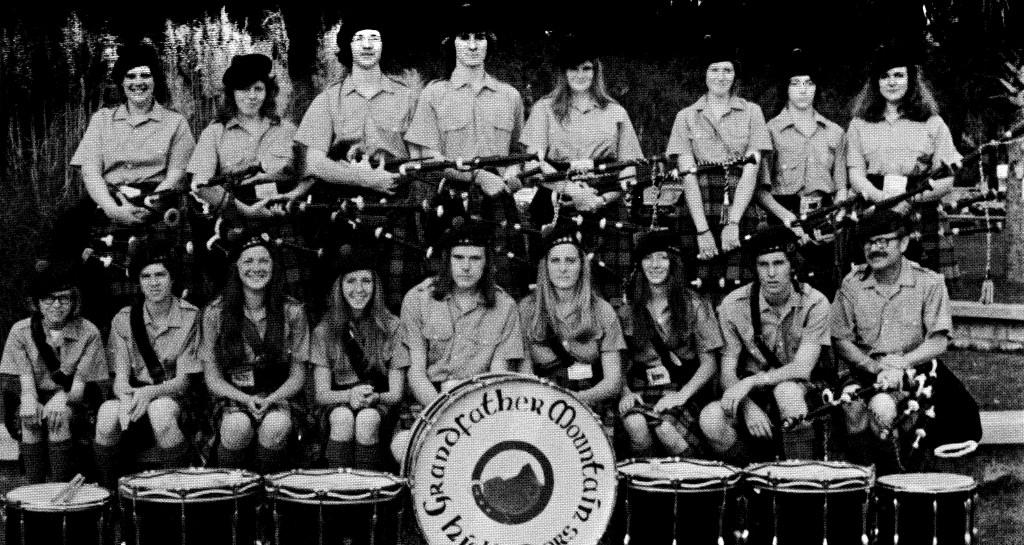 Grandfather Mountain Highlanders 1974