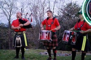 Piedmont Firefighters Pipes and Drums March 2016